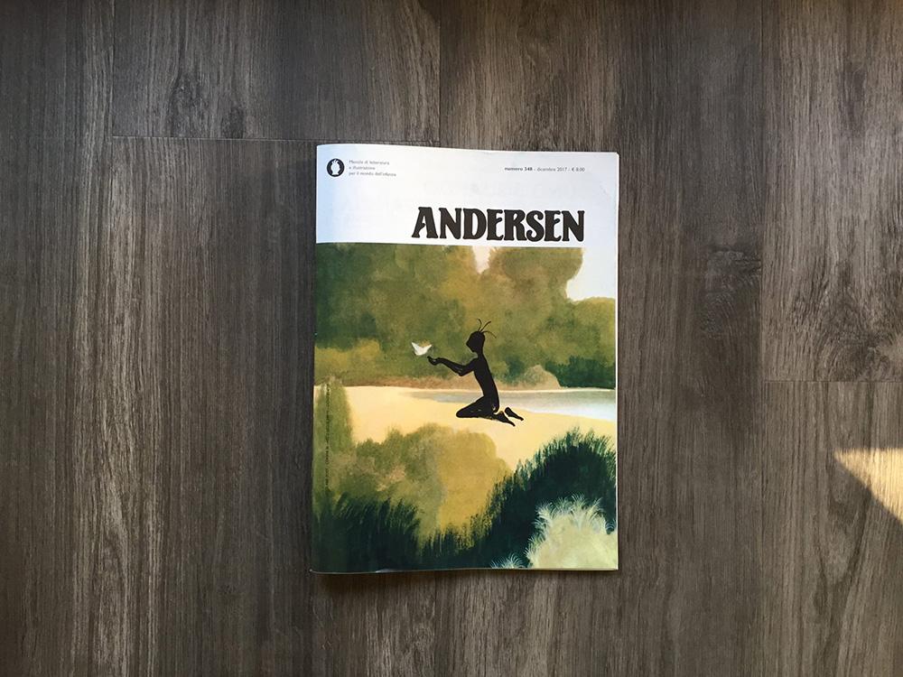 Giana Anguissola - Rivista Andersen