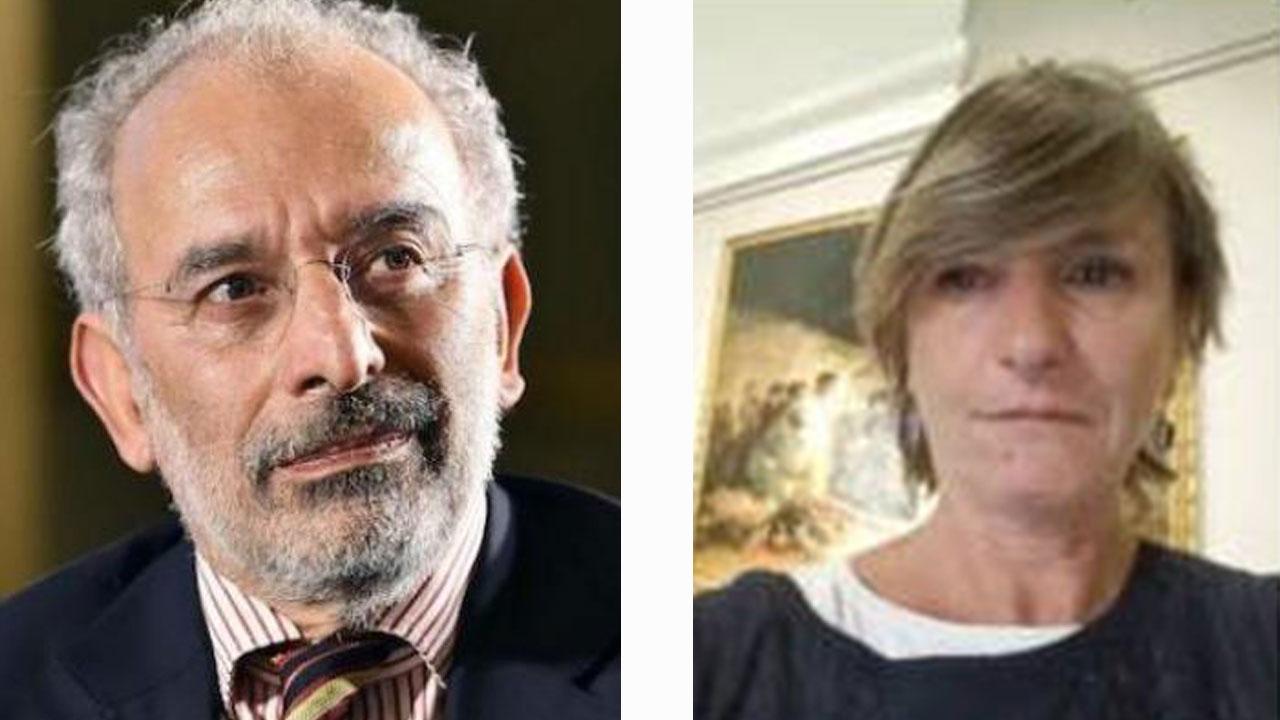 Gad Lerner e Laura Gnocchi - concorso letterario Giana Anguissola Travo