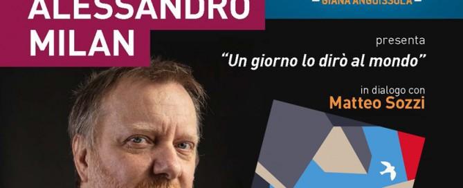 Alessandro Milan e il suo libro